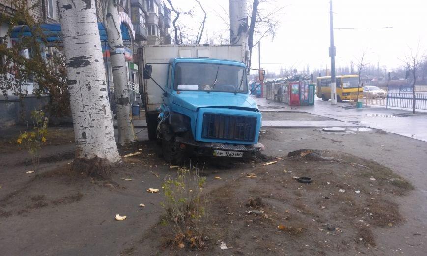 ДТП в Днепропетровске: хлебовозка сбила пешехода и врезалась в дерево (ФОТО), фото-2