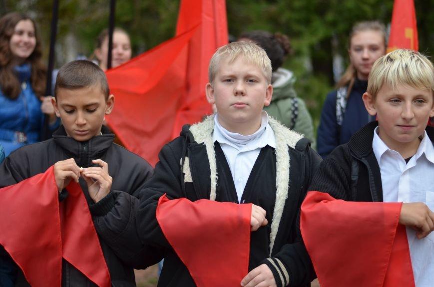 Сегодня в центре Симферополя коммунисты праздновали 95-летие установления Советской власти в Крыму (ФОТОРЕПОРТАЖ), фото-1