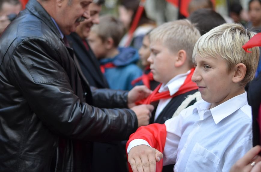 Сегодня в центре Симферополя коммунисты праздновали 95-летие установления Советской власти в Крыму (ФОТОРЕПОРТАЖ), фото-7