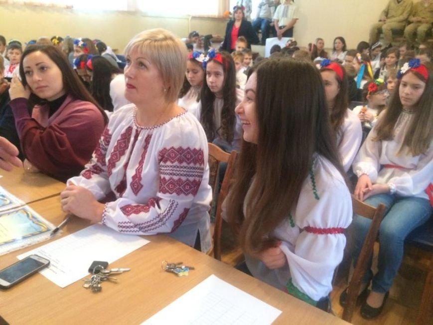 Мариупольские школьники не дождались  бойцов «Азова» (ФОТО, Видео), фото-6