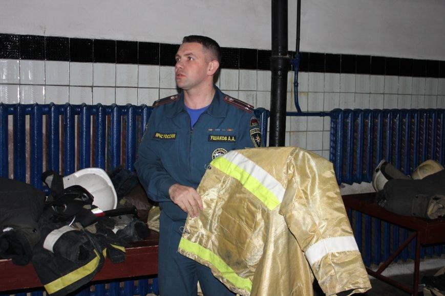 Сыктывкарские журналисты на себе испытали особенности пожарной службы, фото-1