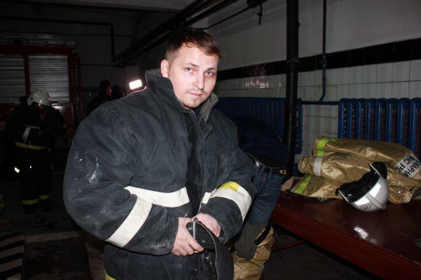 Сыктывкарские журналисты на себе испытали особенности пожарной службы, фото-4