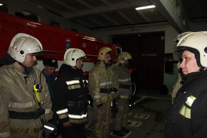 Сыктывкарские журналисты на себе испытали особенности пожарной службы, фото-3