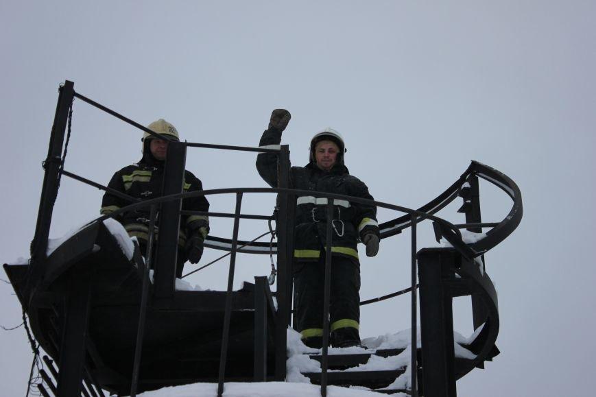 Сыктывкарские журналисты на себе испытали особенности пожарной службы, фото-9