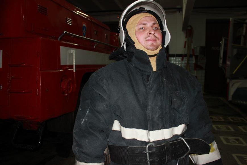 Сыктывкарские журналисты на себе испытали особенности пожарной службы, фото-6