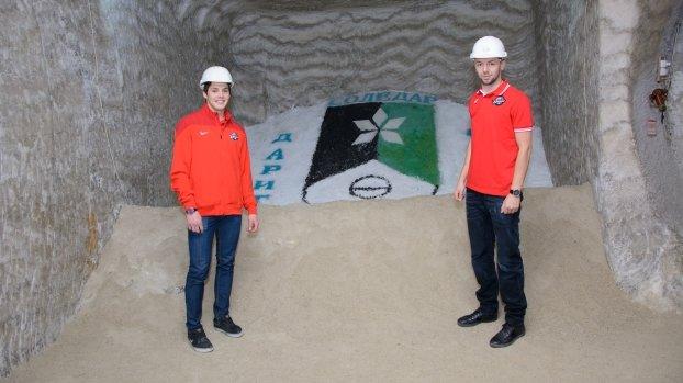 В Соледарской шахте побывали хоккеисты «Донбасса», фото-1