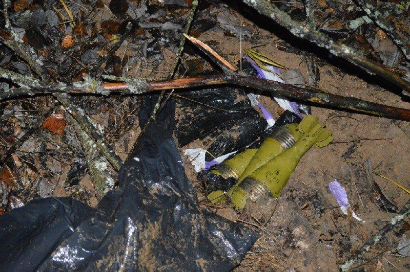 На Сумщині знайшли схованку з мінометними мінами, фото-4