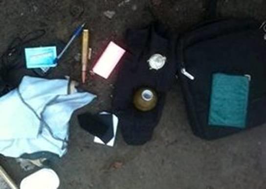 В Киевской области у пассажира автобуса изъяли гранату (ФОТО) (фото) - фото 1