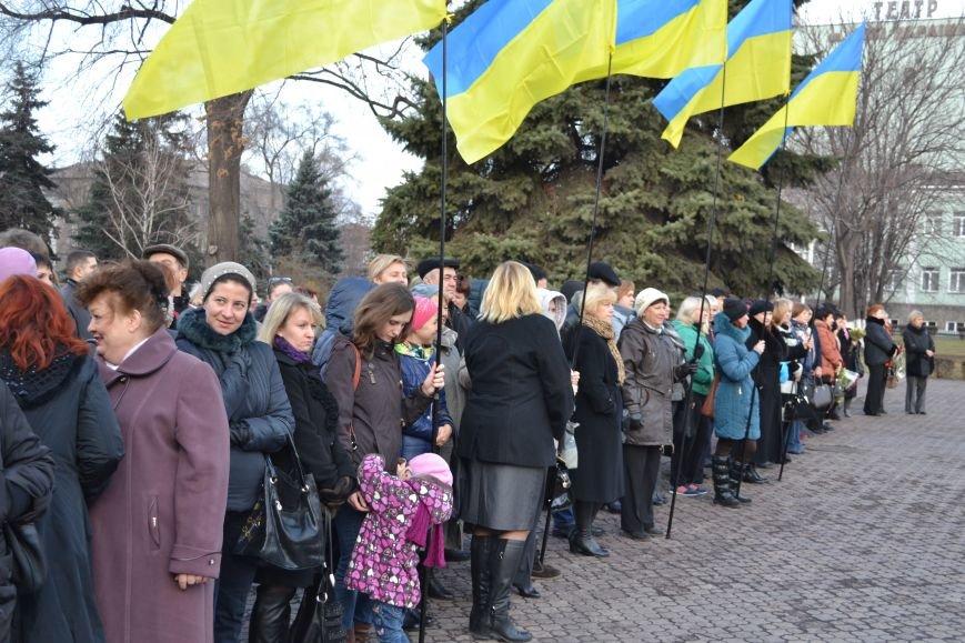 В Днепродзержинске прошел митинг по случаю Дня Достоинства и Свободы, фото-5
