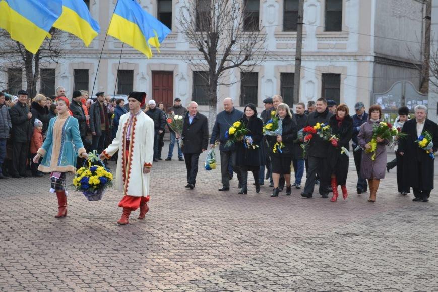 В Днепродзержинске прошел митинг по случаю Дня Достоинства и Свободы, фото-10