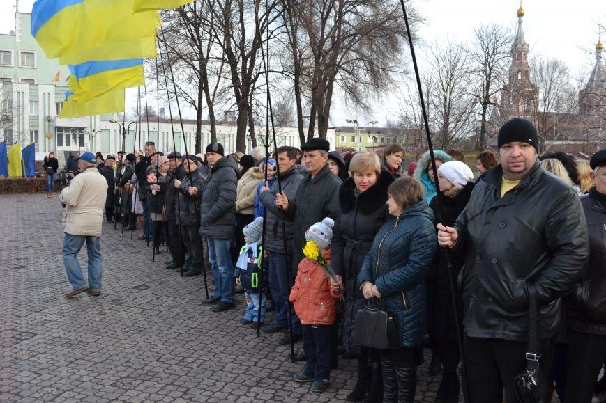 В Днепродзержинске прошел митинг по случаю Дня Достоинства и Свободы, фото-3
