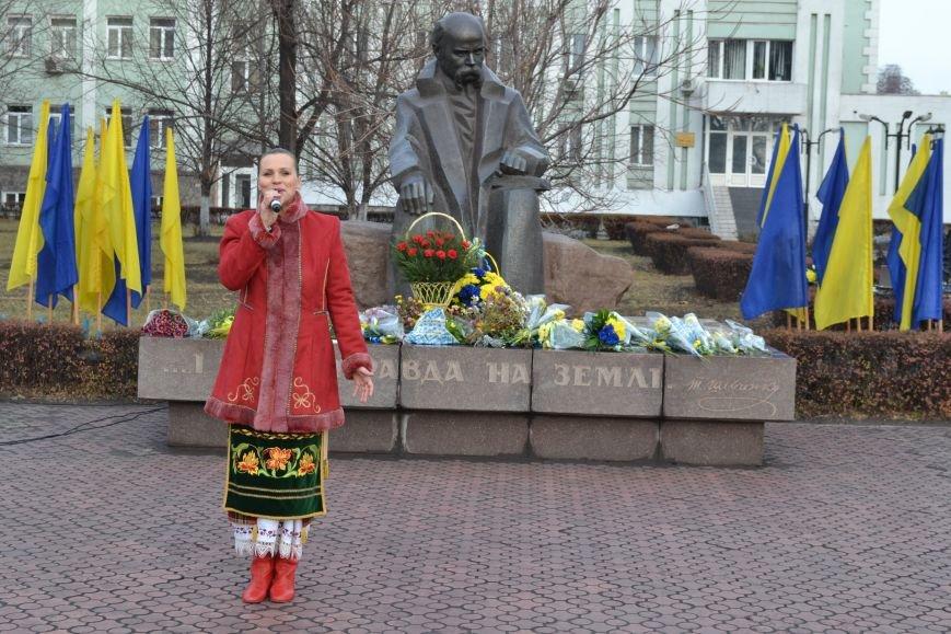 В Днепродзержинске прошел митинг по случаю Дня Достоинства и Свободы, фото-18