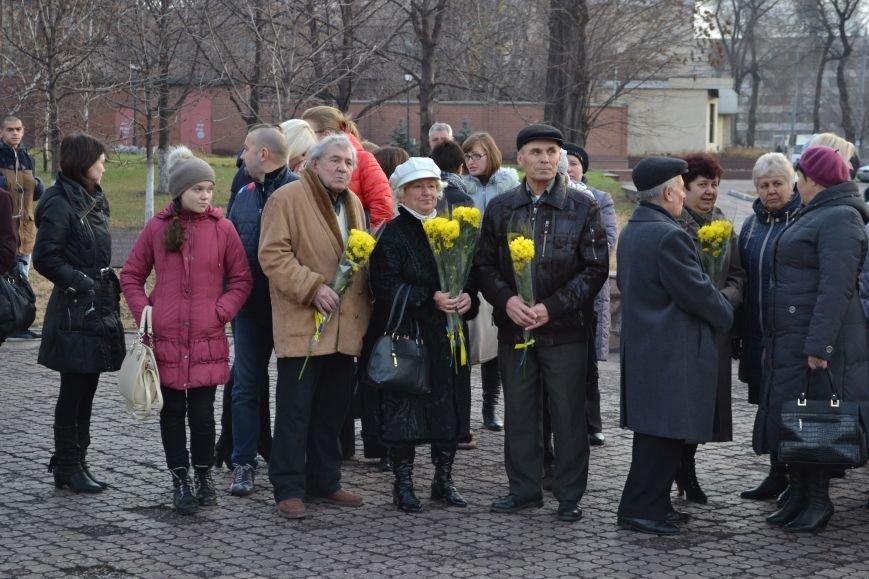 В Днепродзержинске прошел митинг по случаю Дня Достоинства и Свободы, фото-1