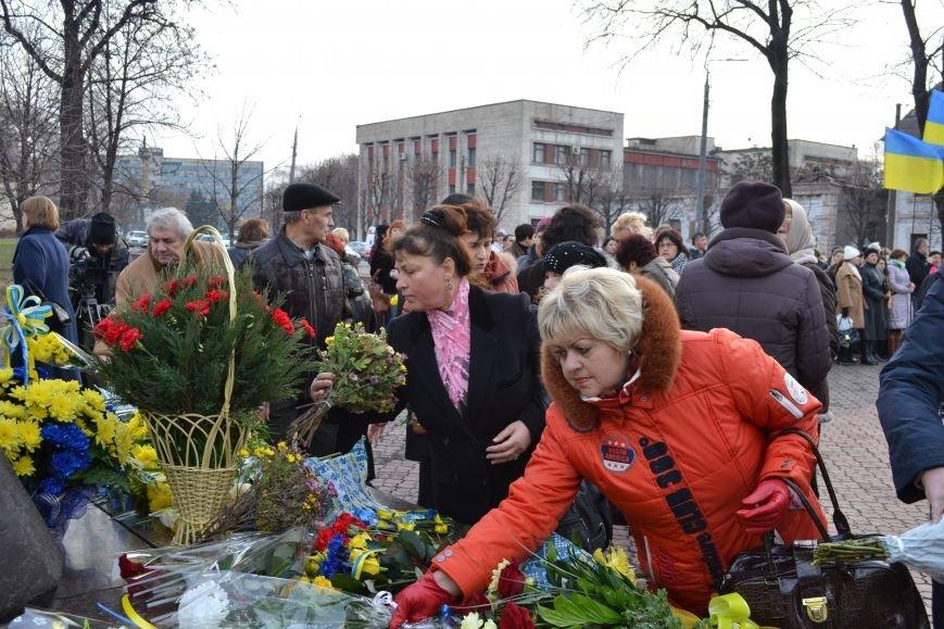В Днепродзержинске прошел митинг по случаю Дня Достоинства и Свободы, фото-15
