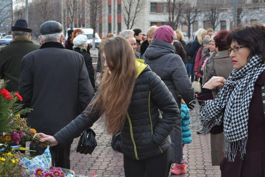 В Днепродзержинске прошел митинг по случаю Дня Достоинства и Свободы, фото-16
