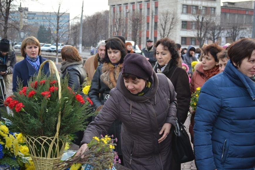 В Днепродзержинске прошел митинг по случаю Дня Достоинства и Свободы, фото-14