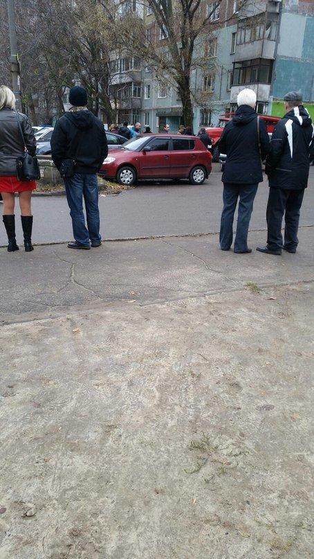 В Запорожье «заминировали» многоэтажку (фото) - фото 1