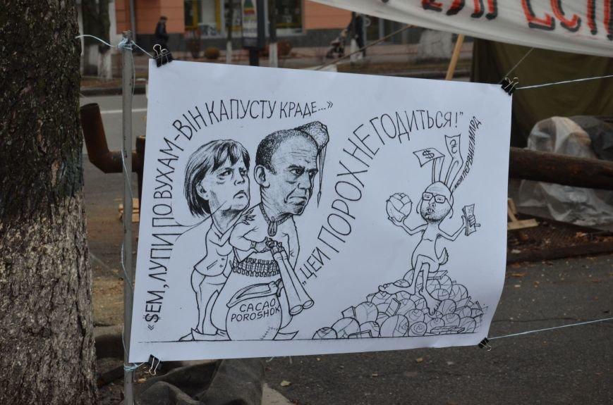Полтавський Майдан продовжує боротьбу за Свободу та Гідність (ВІДЕО), фото-6