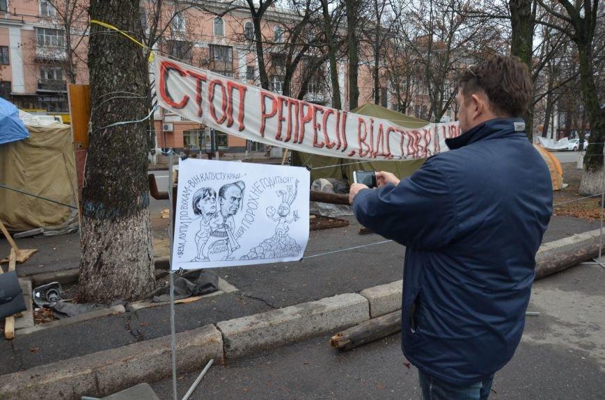 Полтавський Майдан продовжує боротьбу за Свободу та Гідність (ВІДЕО), фото-5