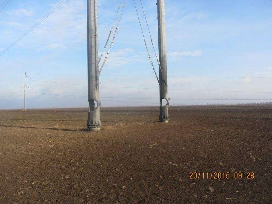 Ремонт поврежденных в Херсонской области электроопор займет до пяти дней. Крымчан просят экономить электричество (ФОТО), фото-4