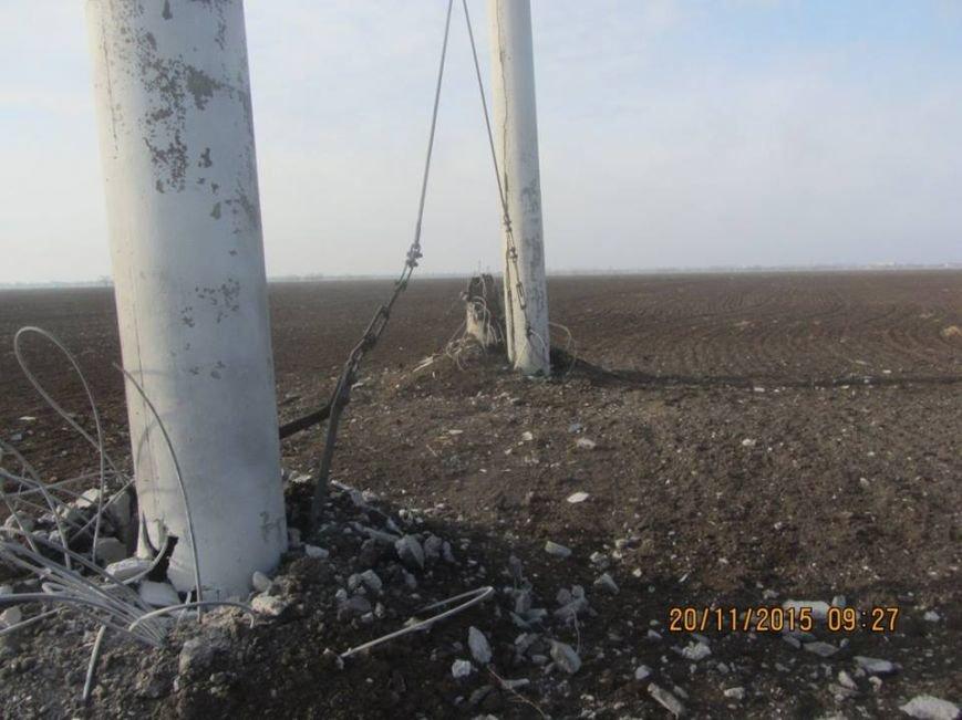 Ремонт поврежденных в Херсонской области электроопор займет до пяти дней. Крымчан просят экономить электричество (ФОТО), фото-3