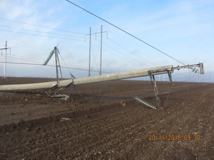 Ремонт поврежденных в Херсонской области электроопор займет до пяти дней. Крымчан просят экономить электричество (ФОТО), фото-6