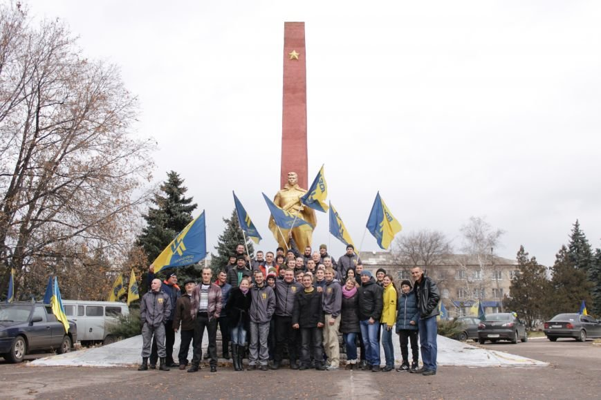 В Доброполье состоялся патриотический автопробег (ФОТО), фото-15
