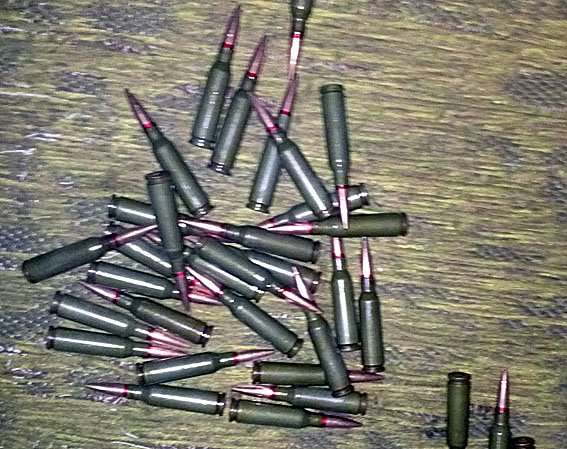 В Красноармейском районе полиция за сутки обнаружила снаряд для гранатомета, гранату «РГД-5» с запалом, а также уйму патронов (фото) - фото 1
