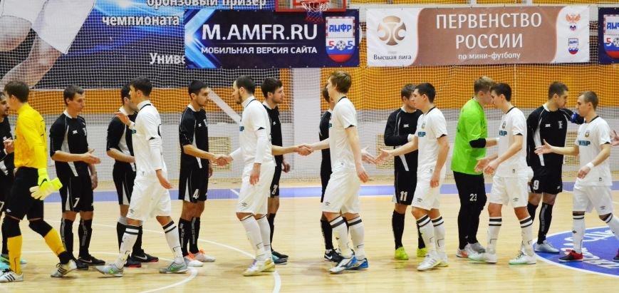 Мини-Футбольный клуб «Самотлор» встретил команду «Ишим Тюмень 2» в рамках Чемпионата России по мини- футболу, фото-1