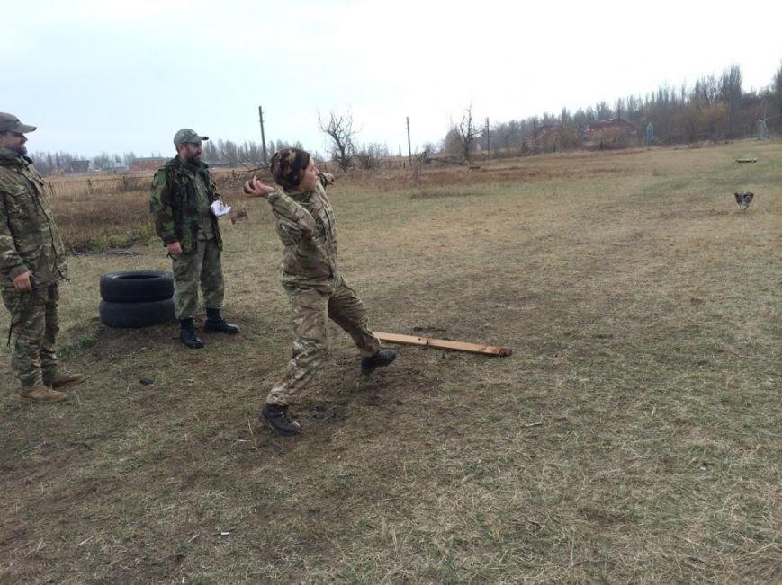 Бойцы «Правого сектора» сменили базу под Мариуполем и отпраздновали годовщину (ФОТО, ВИДЕО), фото-2