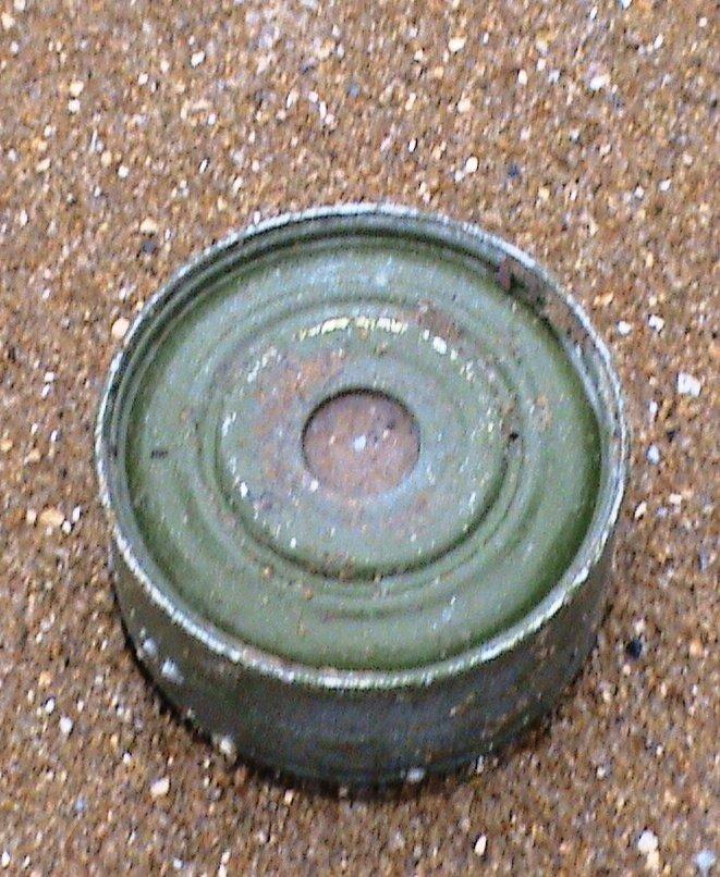 На пляже Мариуполя жители нашли мину (ФОТО) (фото) - фото 1