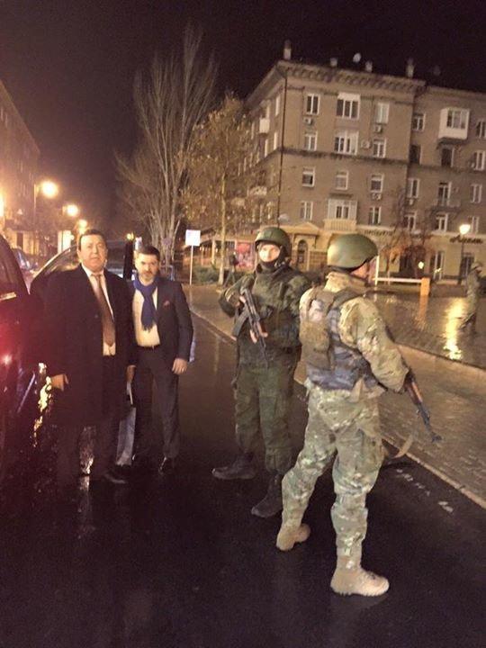 Кобзон передвигался по Донецку в соопровождени двух десятков автоматчиков (ФОТОФАКТ) (фото) - фото 1