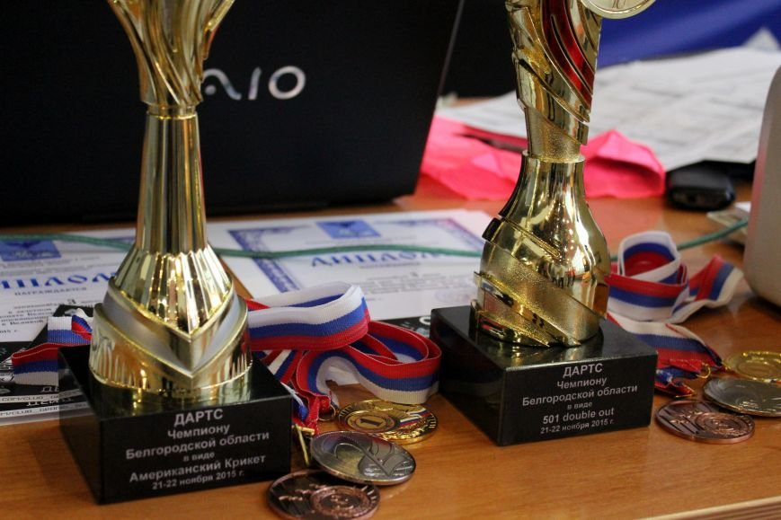 Испытание дротиками. В Белгороде прошёл чемпионат области по дартсу, фото-9