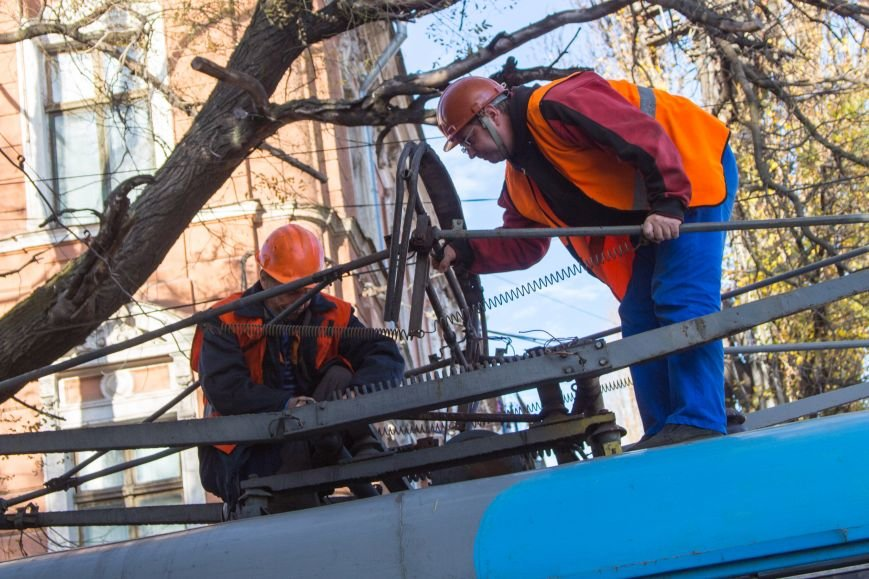 3d6f6eda1096fc7e008d2e4fd06b1b42 В Одессе трамвай создал пробку, парализовав движение коллег на несколько сотен метров