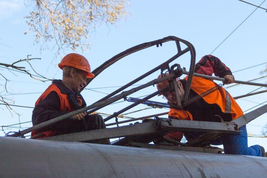 7d705878e109df9fa9cd520f99fe8fcf В Одессе трамвай создал пробку, парализовав движение коллег на несколько сотен метров