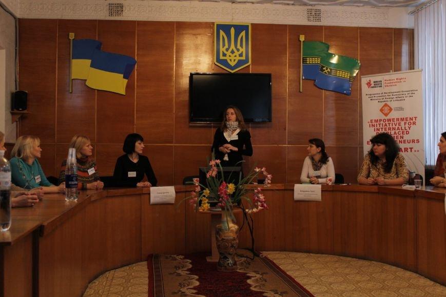 В Доброполье рассказали об усилении работоспособности перемещенных женщин (ФОТО), фото-1