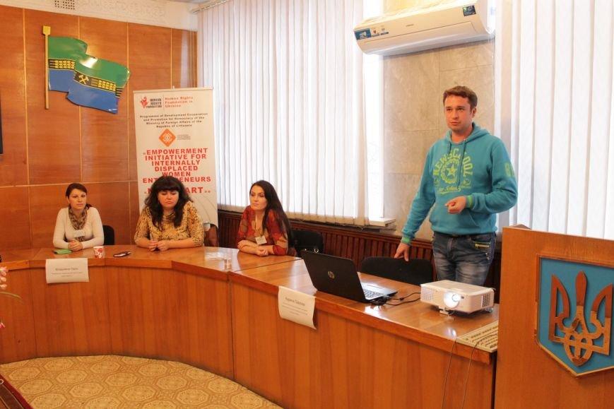 В Доброполье рассказали об усилении работоспособности перемещенных женщин (ФОТО), фото-2