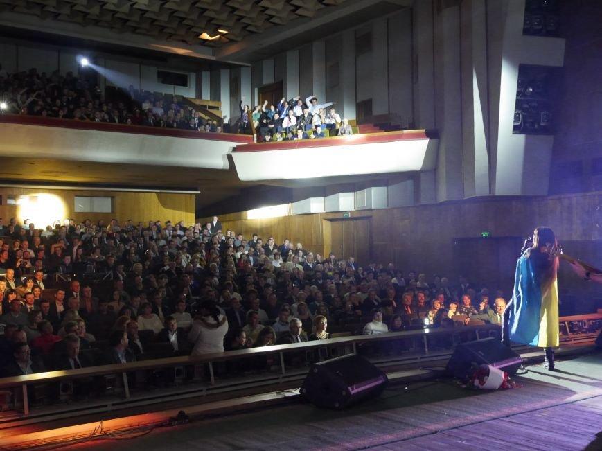 На запрошення «МРІЇ» у Тернополі сольний концерт провела народна артистка України Руслана (фоторепортаж) (фото) - фото 6