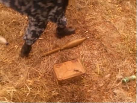 В Донецкой области нашли два тайника со снарядами (ФОТО) (фото) - фото 1