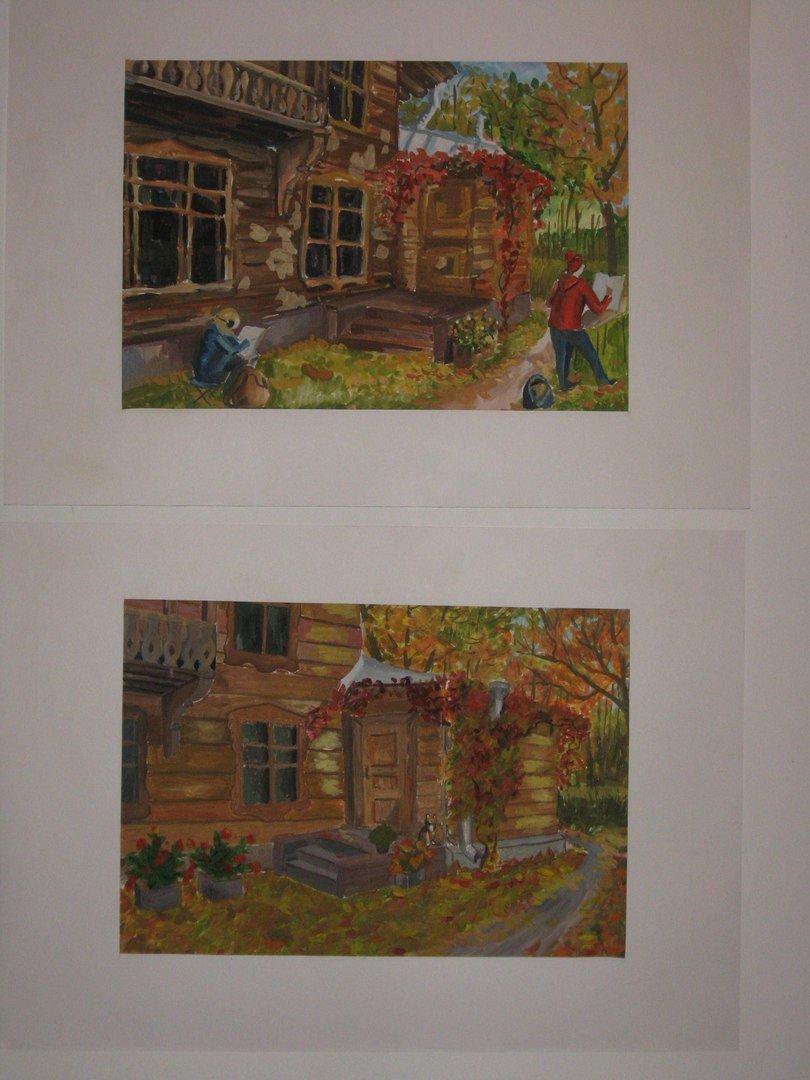 В Доме-музее П.П.Чистякова открылась мини-выставка «Один день» (фото) - фото 1