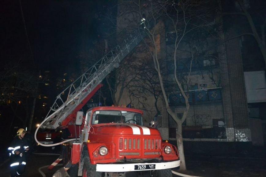 105dd75f1129c188ab2d659fa11b294a В одесской девятиэтажке горели сразу несколько этажей