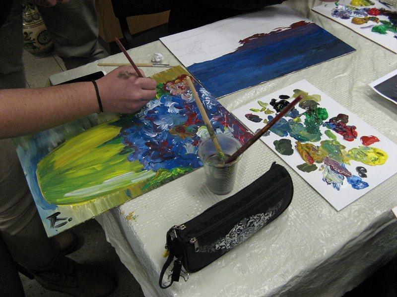 У Тернополі «особливі» діти малювали картини, які продадуть на благодійному аукціоні (фото) (фото) - фото 1