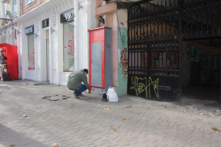 В центре Одессы появился необычный телефонный шкаф (ФОТО) (фото) - фото 1