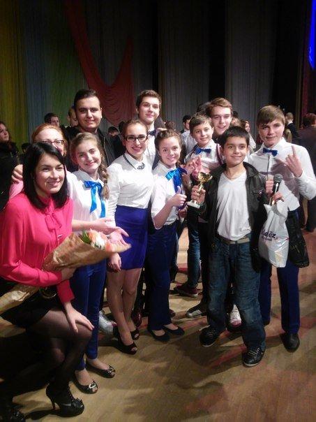 В СумГУ состоялась игра 1/8 финала «Школы смеха» (ФОТО) (фото) - фото 1