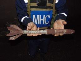 В доменом цеху «Азовсталя» в Мариуполе обнаружили снаряд (ФОТО) (фото) - фото 1