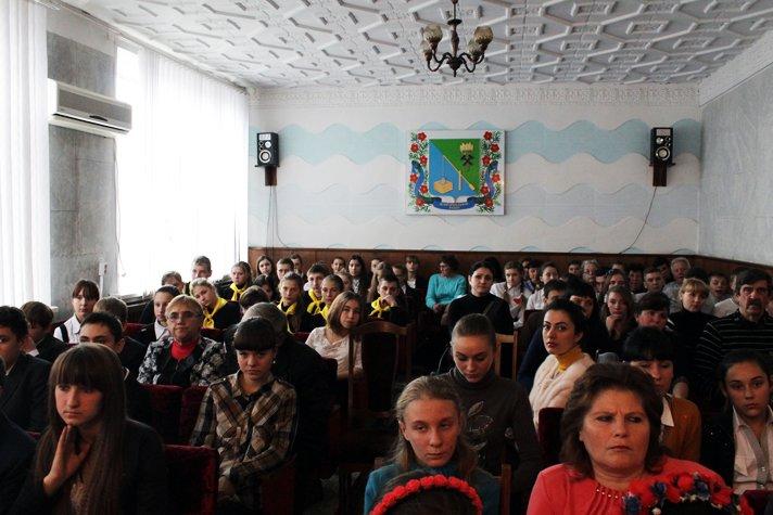 Осмотр деятельности волонтерских отрядов среди учеников школ Добропольского района (ФОТО), фото-11