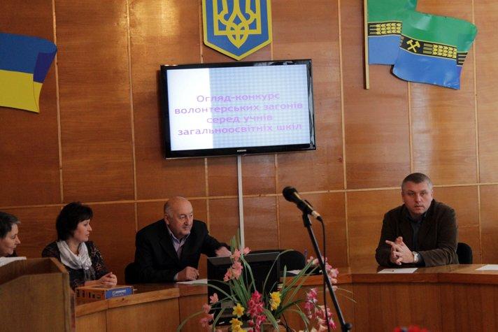 Осмотр деятельности волонтерских отрядов среди учеников школ Добропольского района (ФОТО), фото-4
