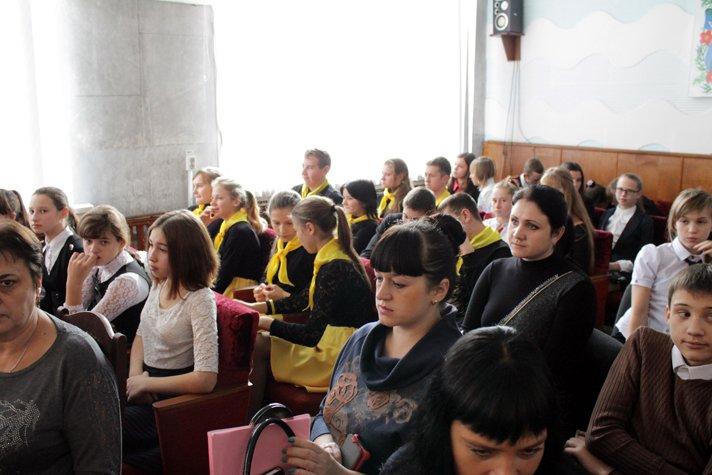 Осмотр деятельности волонтерских отрядов среди учеников школ Добропольского района (ФОТО), фото-3