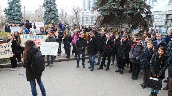 В Харькове студенты устроили революцию (фото) - фото 2