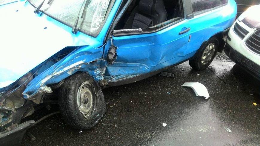 В Одессе масштабная авария на Краснова остановила движение (ФОТО) (фото) - фото 1